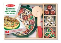 Wooden Pizza Play Food Set