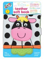 Teether Soft Book Farm