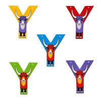 Wooden Upper Case Letter Y