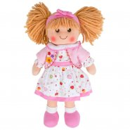 Kelly Medium Rag Doll by Bigjigs Toys