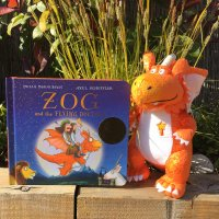 Zog Board Book and Soft Toy