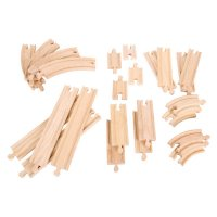 Bigjigs Rail - Curves and Straights Expansion Set