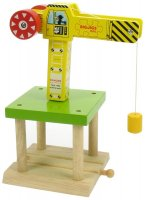 Bigjigs Rail - Big Yellow Crane