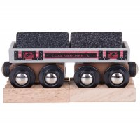 Bigjigs Rail Coal Wagon BJT408