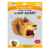Lion 3D Mask Craft Kit