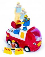 Ernie Fire Engine Wow Preschool Toddler Toy