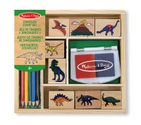 Dinosaur Ink Stamp Set