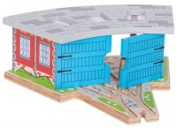 Bigjigs Rail - Triple Engine Shed