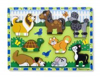 Pets Chunky Wooden Puzzle
