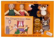 Gingerbread Man - Finger Puppet Story Set