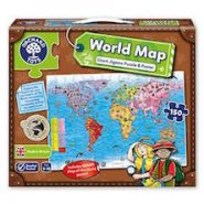 World Map 150 Piece Jigsaw