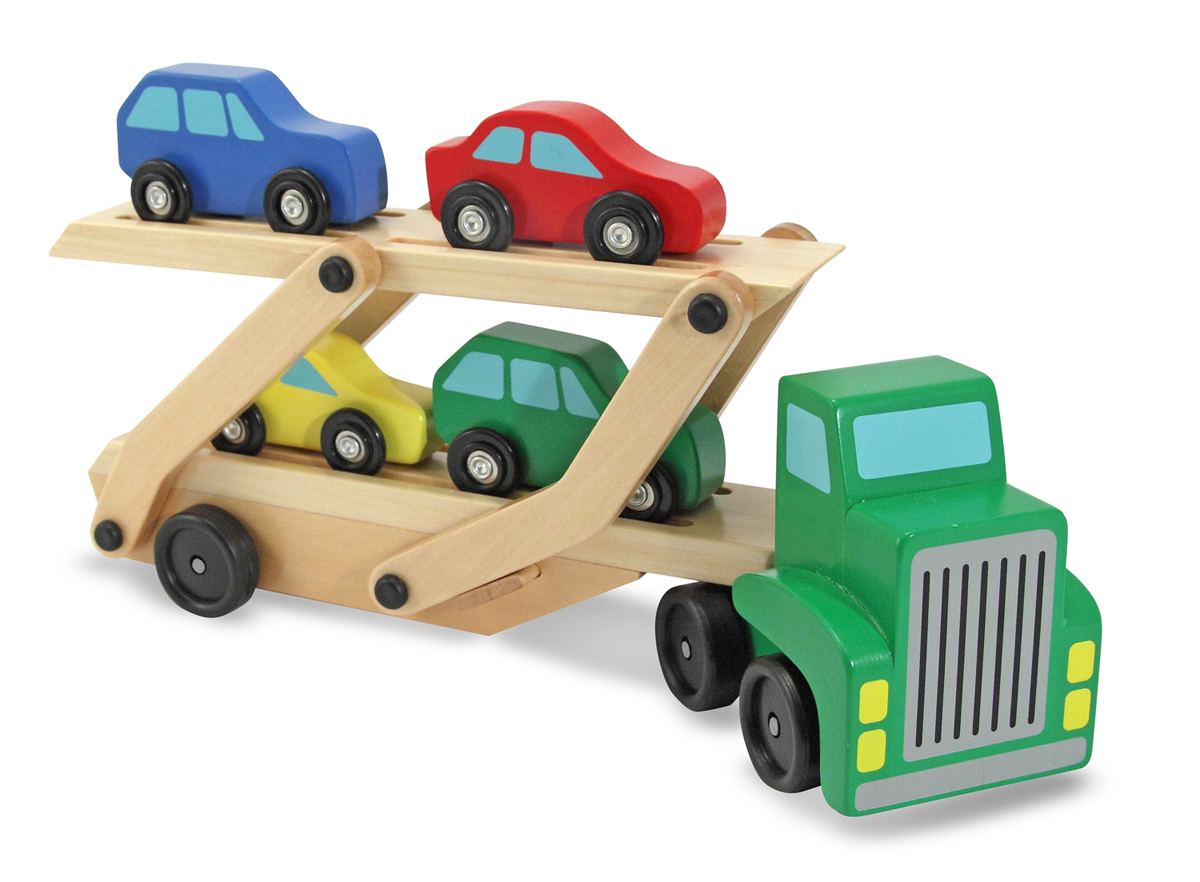 Wooden Car Transporter - Melissa and Doug